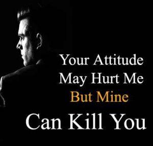 Attitude Shayari killing whatsapp dp hd