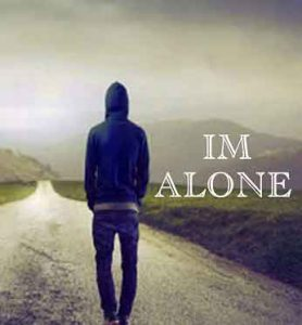 alone Whatsapp dp for single boy images hd