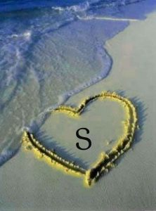 beach for S letter whatsapp dp images hd