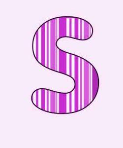 best colorful S letter Profile wallpaper