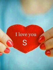 best love for S letter whatsapp dp hd