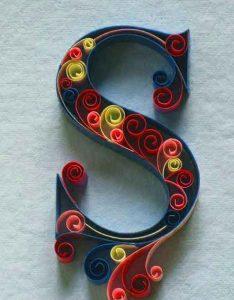 colorful S letter Profile pics hd